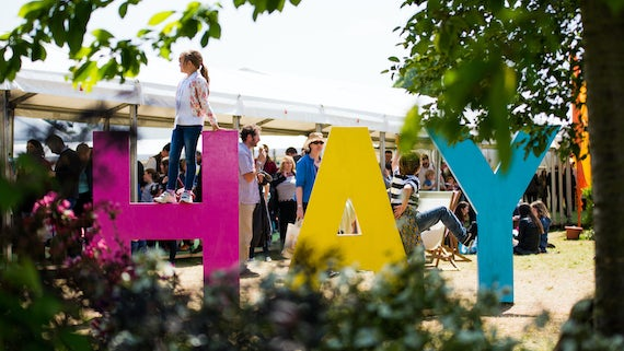 Hay Festival signage