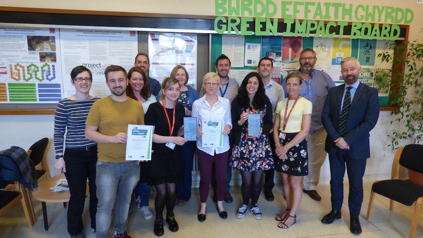 Green Impact Team 2017