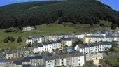 Image of a remote Welsh village
