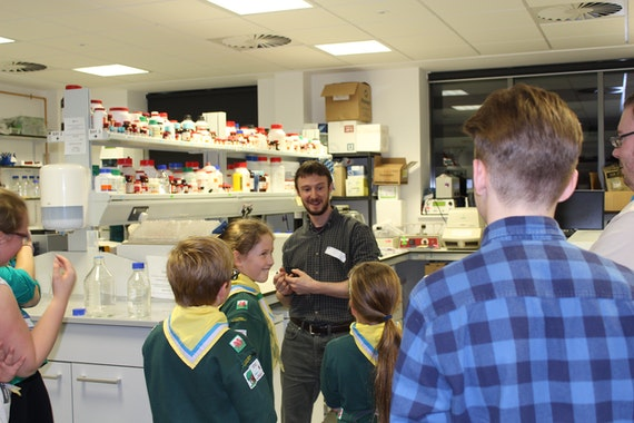 Craig Joyce lab scouts