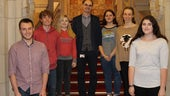 Cardiff University Scholarship winners in Chemistry