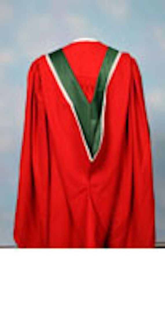 Image of a Doctorate Gown