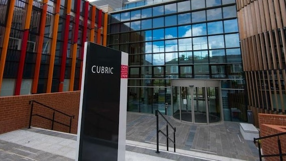 Exterior of CUBRIC