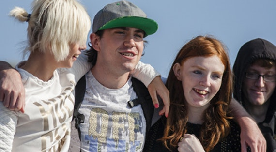 Young people from the SEYHOPE project