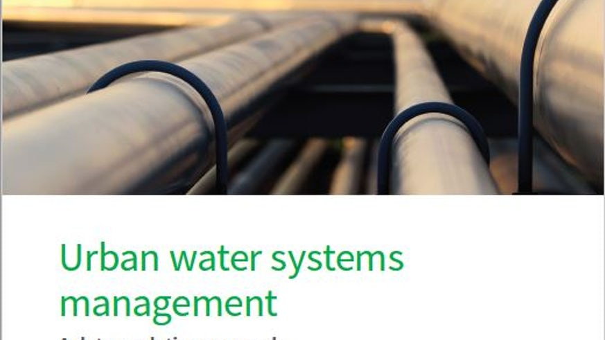 Urban water systems management image
