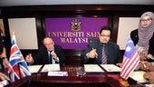 Cardiff University signing MoU with USM
