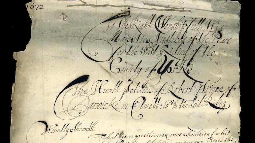 Civil War Petition