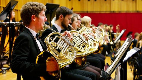 Brass section, Symphony Orchestra