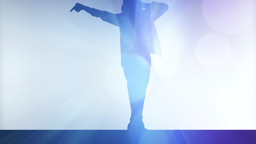 MJ hologram/shadow