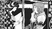 Medieval image of romance