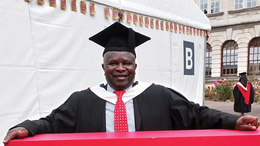 Simba graduating