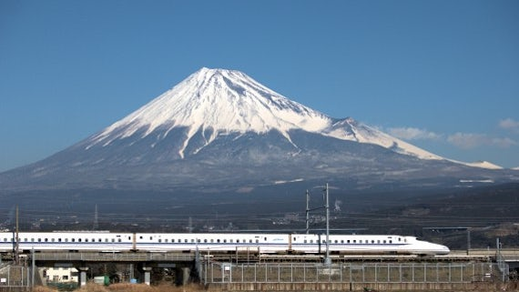 The shinkansen, Japan's bullet train