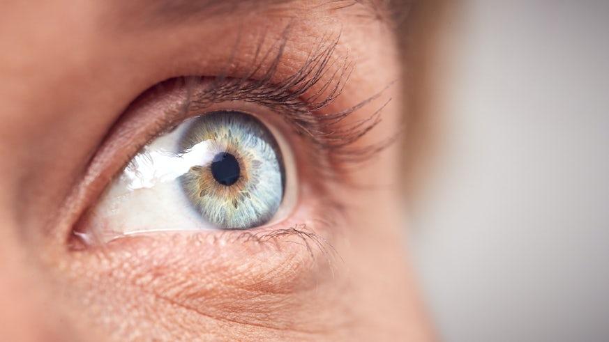 Stock image of an eye