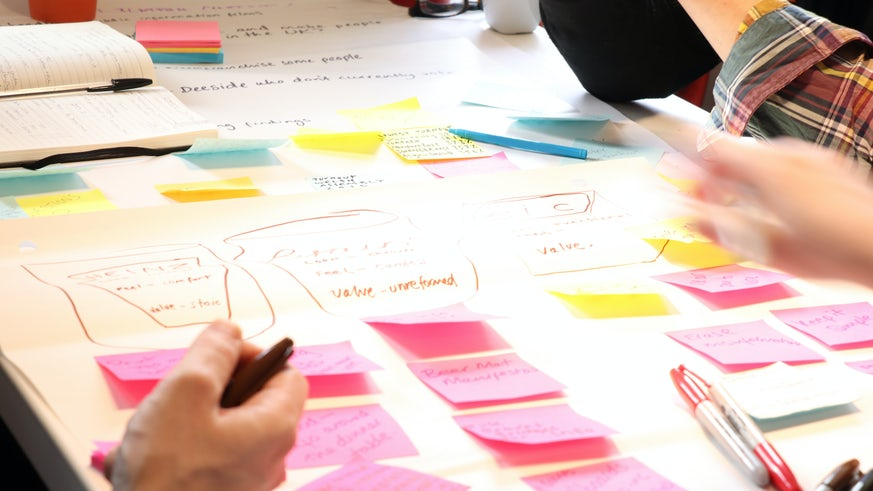People planning work
