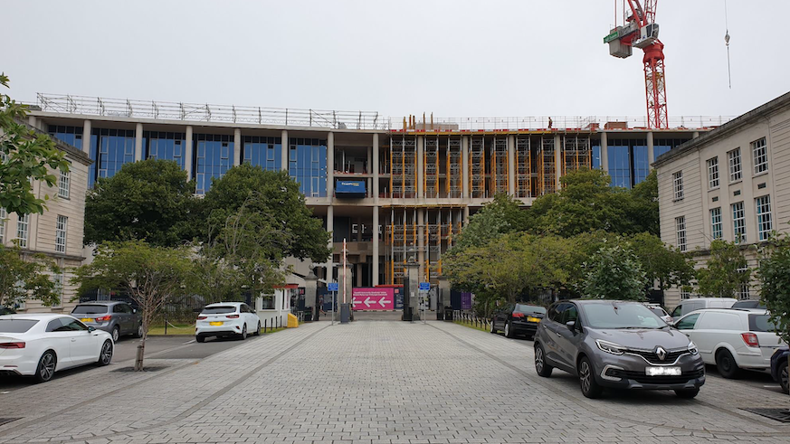Centre for Student Life from the Main Building