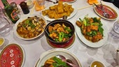 A table full of Chinese delicacies
