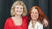 Dr Amanda Villepastour and Laudan Nooshin