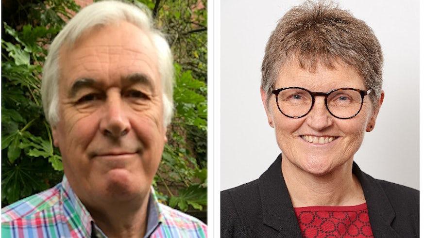 Professor Anthony Campbell and Professor Barbara Chadwick