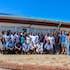 Training in exploration geology at Midlands State University, Zimbabwe