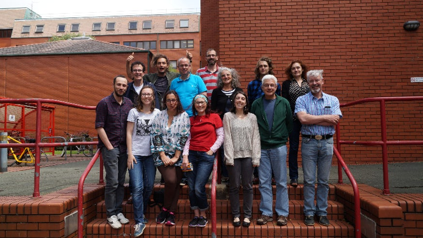 Image of some of the 2016 Summer Course learners