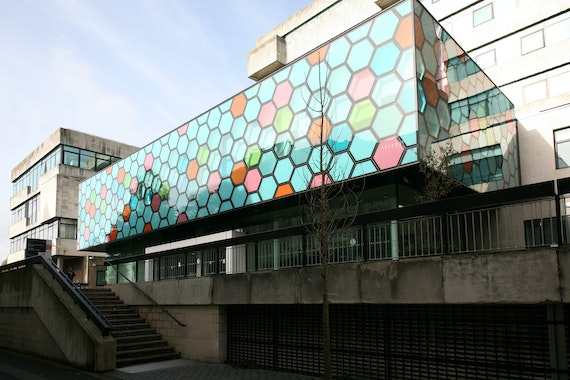 Image result for sir martin evans building lecture theatre
