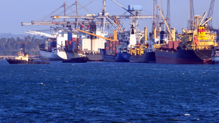 East African port