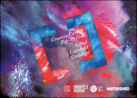 Creative Cardiff hub logo