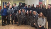 Pupils visiting the School of Modern Languages on a study day organised by our students.