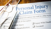 Personal Injury claim paperwork