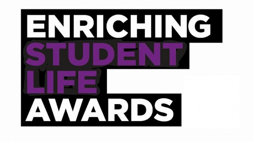 Enriching Student Life Awards logo