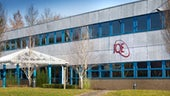 The IQE building in Cardiff.