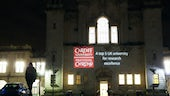 Projection of REF results onto Main Building