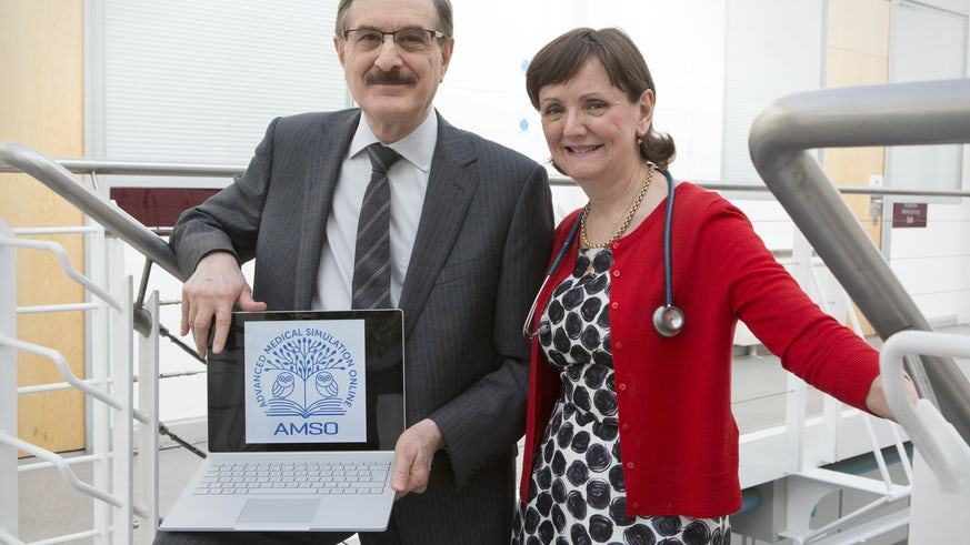 Professor Amso and Dr Scott
