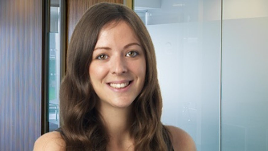 Lisa-Marie Knight, named Junior Lawyer of the Year by the Cardiff and District Law Society.