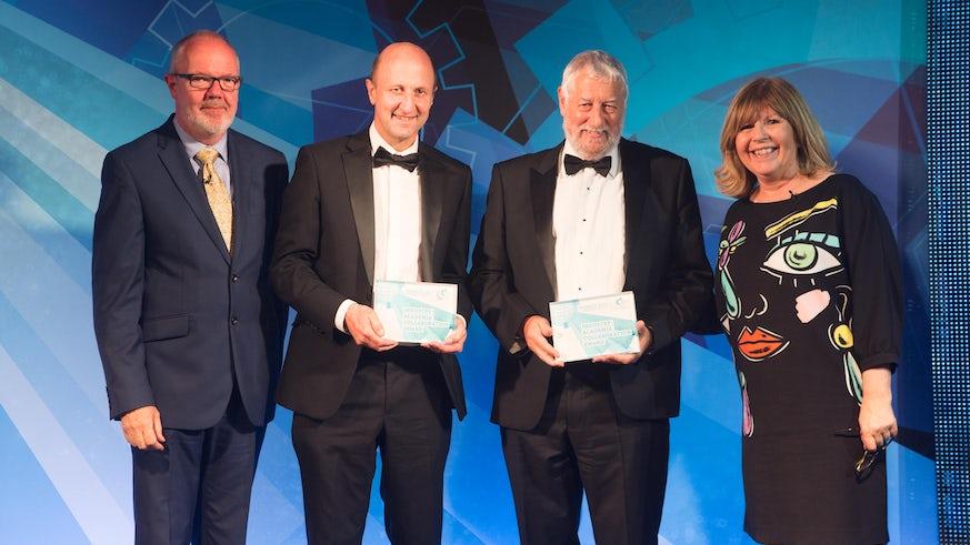 Graham Hutchings collaboration award