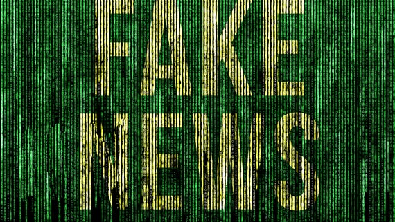 'Fake News' written in code