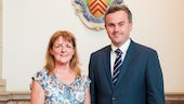 Professor Sioned Davies and Dr Dylan Foster Evans