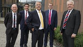 Delegation at IoD Wales opening