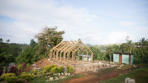 Vivili Community Hall structure