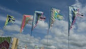 Banners at the Eisteddfod