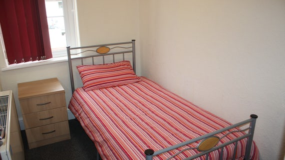 Bedroom 3 in Talybont Court 3 Bed House