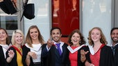 Graduates at the Hadyn Ellis