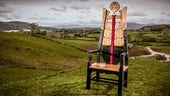 Chair from 2017 National Eisteddfod
