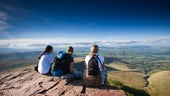 Image of students on Pen Y Fan