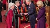 Prince Charles, Camilla, VC, Mike Owen, QAP