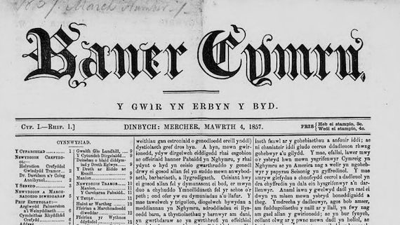 Welsh newspapers - Special Collections and Archives