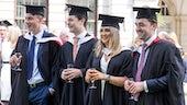 Image of 2016 Graduates at the Graduate reception