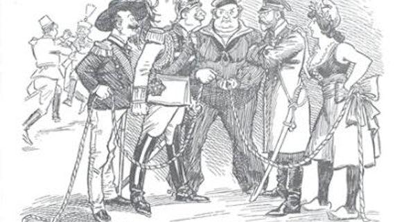 Cartooning the First World War