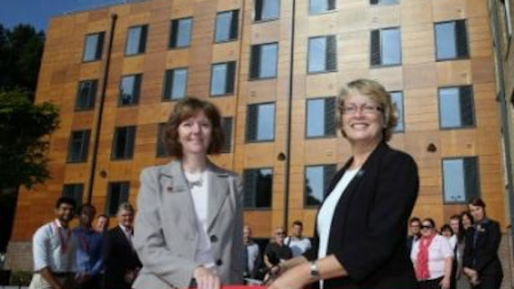 Ribbon cut on state-of-the-art student accommodation