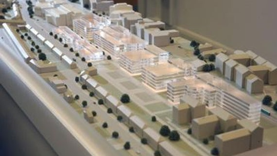 Model of the proposed Social Science Research Park